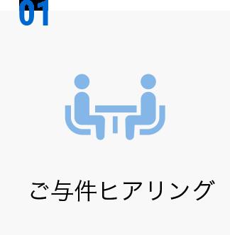 01 ご与件ヒアリング